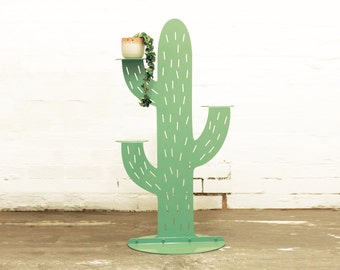 Cactus Plant Stand Large