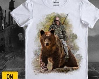 Putin shirt etsy putin t shirt men t shirt womens tee made in russia publicscrutiny Image collections