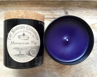 Moroccan Fig - Fine Scented Candle - 8 oz