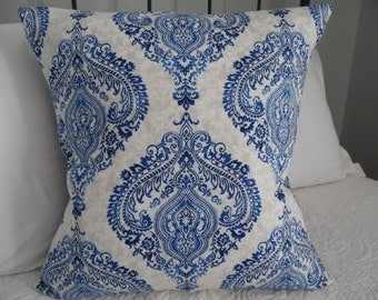 18x18.3 Colors to choose from.Royal blue.Indigo.Off White Pillow Covers.Browns.Chia.Greys pillow cover.Home Decor.Slip Covers.Pillow Cover.