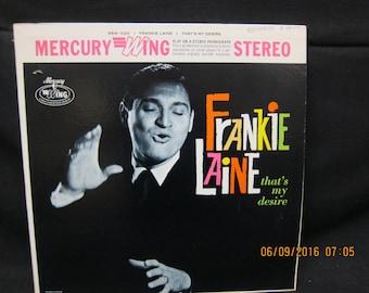 Frankie Laine That's My Desire - Mercury Wing