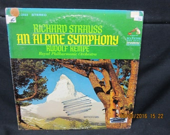 "Strauss ""An Alpine Symphony"" Klemperer Conducting the Royal Philharmonic - RCA (1967)"