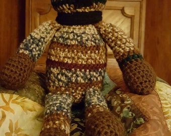 Crochet Brown Bear