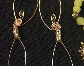 Sun Goddess earrings