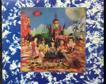 """The Rolling Stones """"Their Satanic Majesties Request"""" 1967 w/ Lenticular Cover"""
