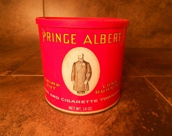 Vintage Prince Albert Pipe Tobacco Can