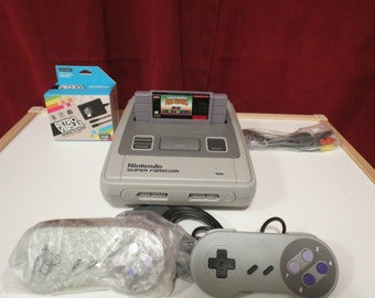 Super Nintendo/Famicom Modified to play US games and Jap Import