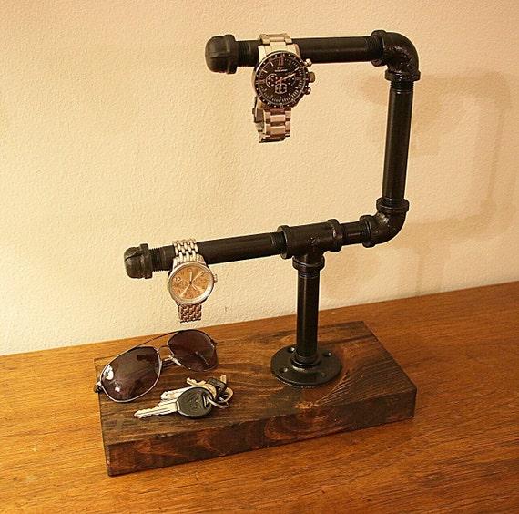 wooden watch holder