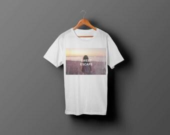 T-Shirt homme/femme - Sweet escape - 100% cotton