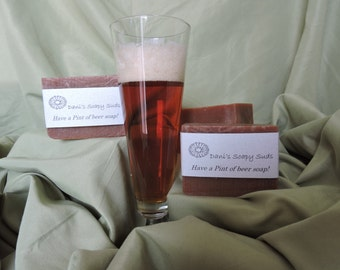 Have a pint of Beer soap!