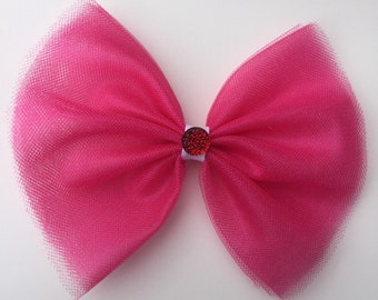 Pink tutu Bow