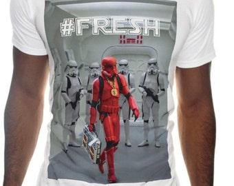 Mens Star Wars Trooper T-Shirt Funny