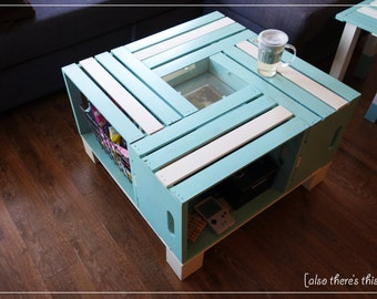 Crate Coffee Table (Customized)