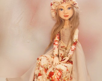 art handmade doll