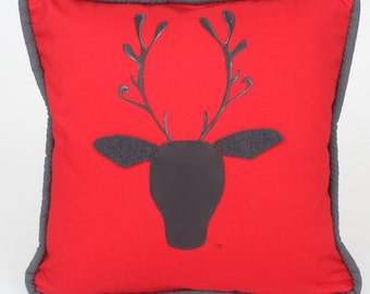 Cushion decorative George deer