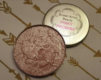 PINKY PROMISE   Pink Iridescent Golden Highlight Powder