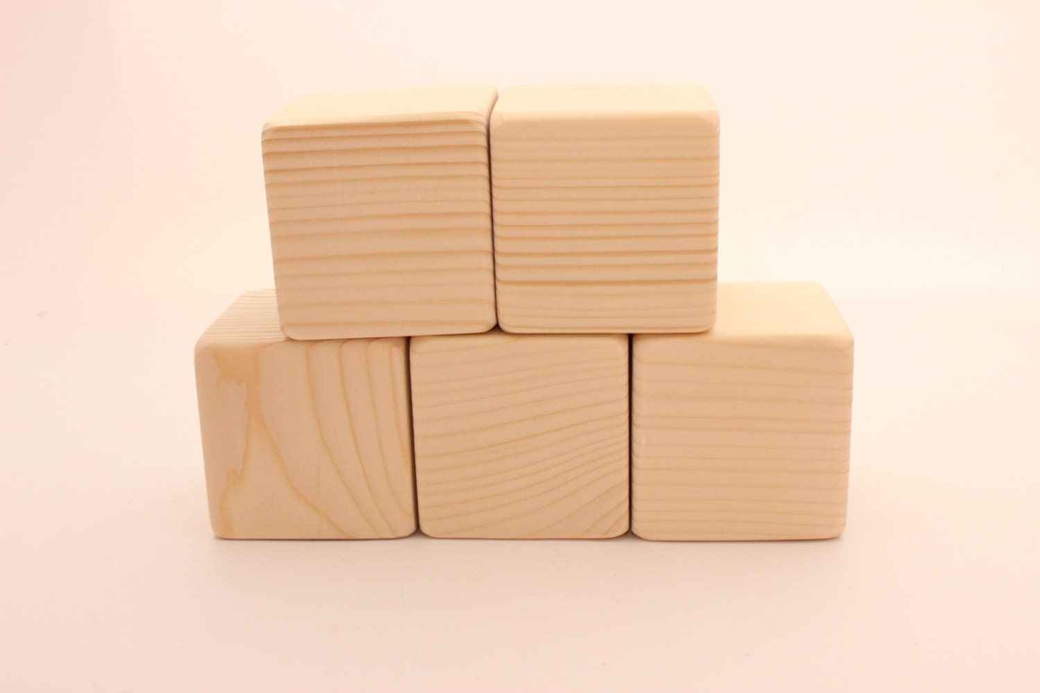 Big Wood Blocks ~ Unfinished wooden blocks quot cm large
