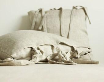 FREE SHIPPING/ Decorative Pillow, Linen pillows, Bedroom decor, Linen decor, Linen pillowcase, Living room decor, Pillow cover