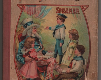 "Antique ""Young American Speaker"" Children's Book"
