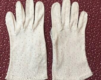 Vintage Beaded Ladies Glove