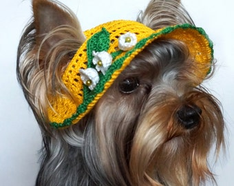 "Hat for dogs ""Lily"""