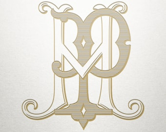 Premade Logo Monogram - HP PH - Premade Logo - Digital