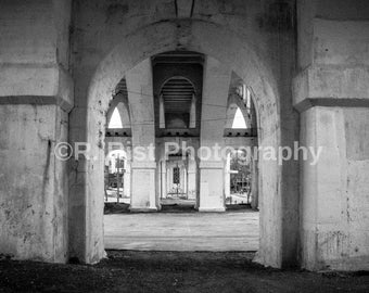 Architecture B&W Photography Print - Multiple Sizes - Metallic Archival Print - Fine Art Print