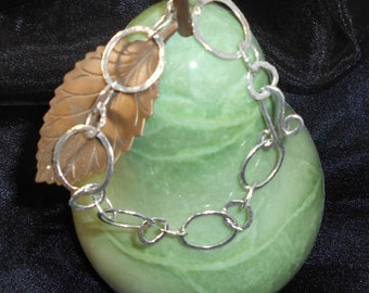 Fine Silver Handmade Bracelet - Very Elegant