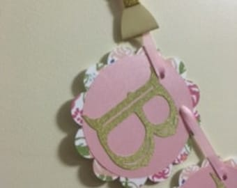 Shabby Chick Birthday Banner