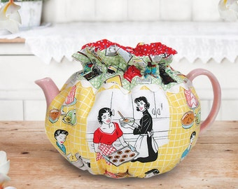 Afternoon Tea Party - Tea Cozy Pattern from Pink Sand Beach Designs