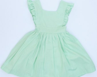 Pinafore in Mint