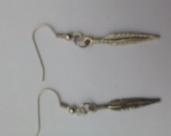 Native American feather earing