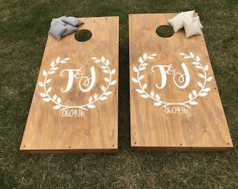 Custom Wedding Cornhole Boards