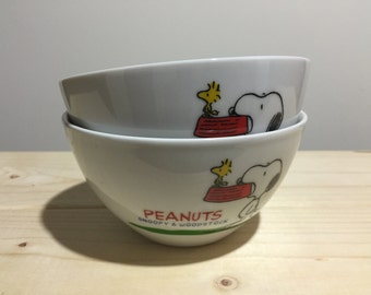 Peanuts: Snoopy and Woodstock bowl