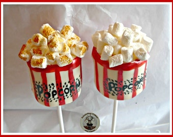 Marshmallow Novelty Popcorn/Giant Marshmallow/Popcorn Lover/Marshmallow Lover/Kids Birthday Favours/Boys Gift/Girls/Children/Son/Daughter