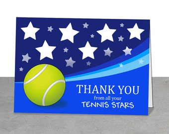 Tennis Coach Gift, Tennis Party, Tennis Team, Team Thank You, Tennis Digital Card, Printable Tennis, Tennis Ball, Coach Thank You