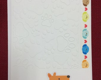 Handmade greeting cards/ fall and dog cards