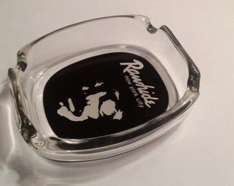 ashtray from legendary NYC  gay/leather bar Rawhide collector's item