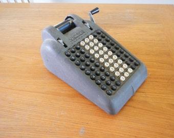 Vintage Victor Champion Adding Machine