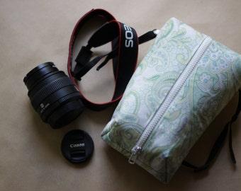 Camera bag/case for Women DSLR Padded pouch Travel insert Canon/Nikon/Fuji/Olimpus Shoulder handbag insert  Photographer Gift ideas for her
