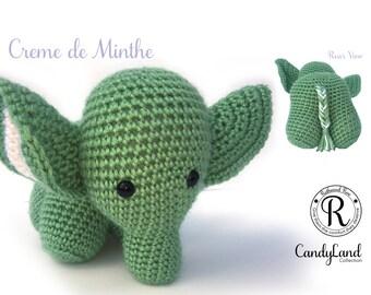 Creme de Menthe Emily - green elephant