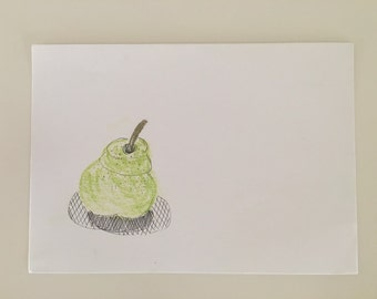 Pear (original drawing)