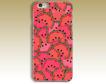 WATERMELON iPhone 6 Case, iPhone 6s Case, iPhone 6 Plus Case, iPhone 5 Case, iPhone 5s Case, iPhone 4 Case, Ipod Touch 5 Case Christmas Gift