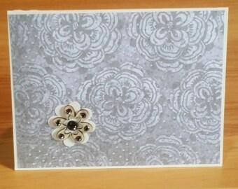 Handmade Greeting Card - Blank Inside