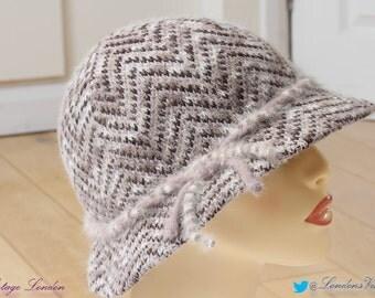 Genuine Vintage Kangol Ladies wool hat - very pretty