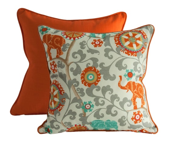 All Modern Outdoor Pillows : OUTDOOR PILLOW COVERS Modern Throw Pillow Cover by OneHappyPillow