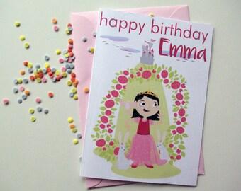 PRINCESS custom card