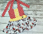 Mickey Peplum Top