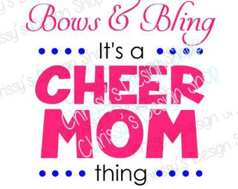 Cheer mom svg file / cheer svg / dancer svg / school svg / cheerleader svg / cheer mom print / vinyl crafting / cheerleader mom print