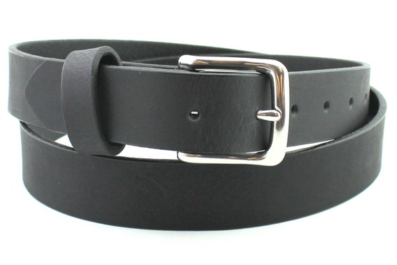 soft grain black leather belt best solid custom